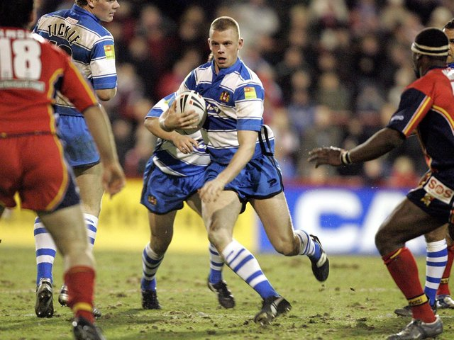 Kevin Brown started his professional career at Wigan