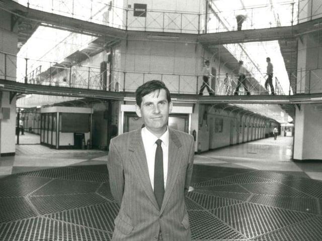Brendan O'Friel at Strangeways