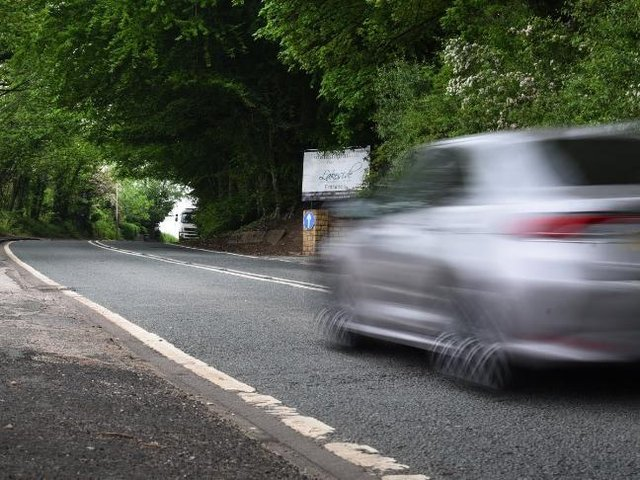 Chorley Road, Worthington, where campaigners want to see the speed limit reduced