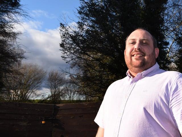 Kieran Jones won the Community Hero prize at the Our Town Awards