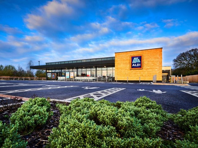 Budget retailer Aldi has included five Wigan locations on its expansion wish list
