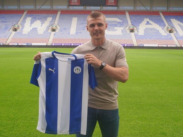 Max Power back at the DW Stadium today