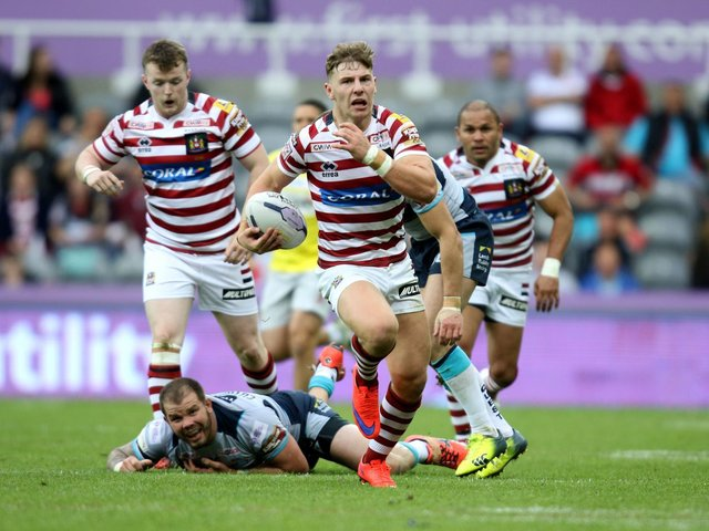George Williams could be set to sign for Warrington (Photo: PA Wire)