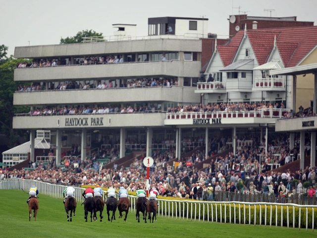 Haydock Park stages a twilight six-race meeting on Saturday