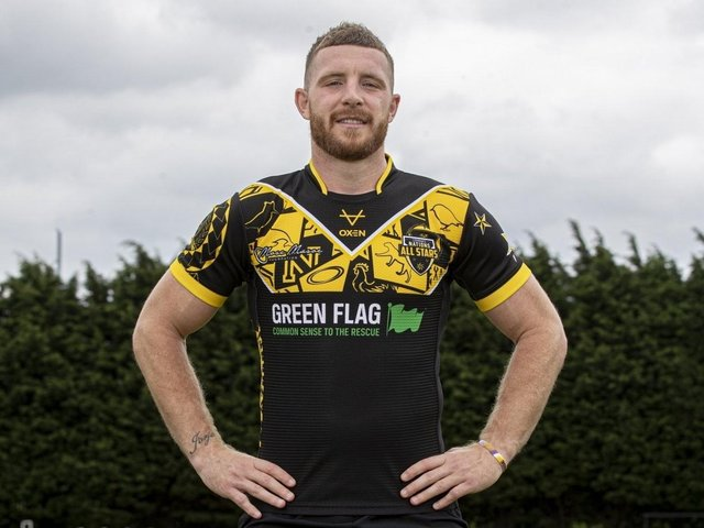 Jackson Hastings in the All Stars shirt