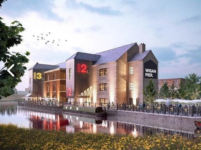 Work to better connect the Wigan Pier Quarter with Wigan town centre starts today