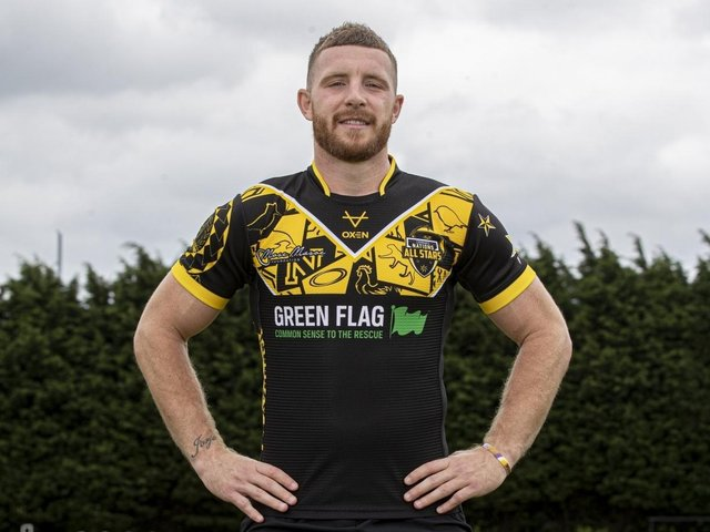 Jackson Hastings is vice-captain of the All Stars