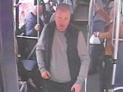 Image of a man police want to speak to (Image: GMP)