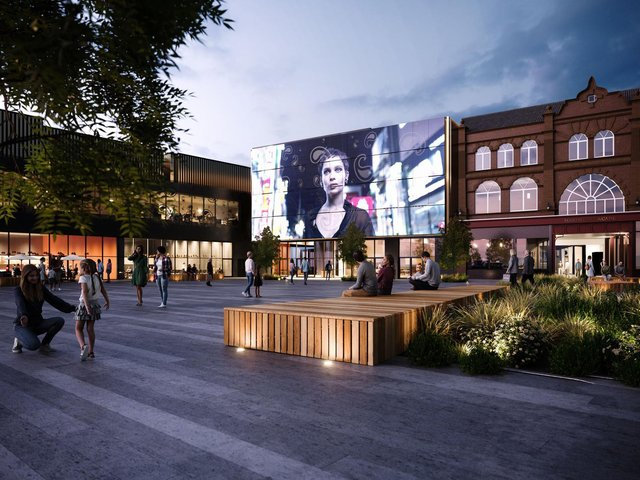 How part of the redevelopment of The Galleries could look