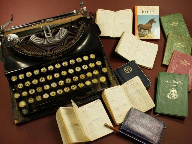 Enid Blyton's typewriter