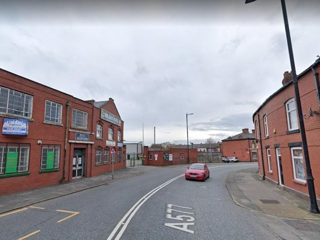 Darlington Street East has been shut in both directions. Pic: Google Street View