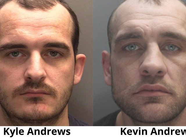 The Andrews brothers. Image: Cheshire Police