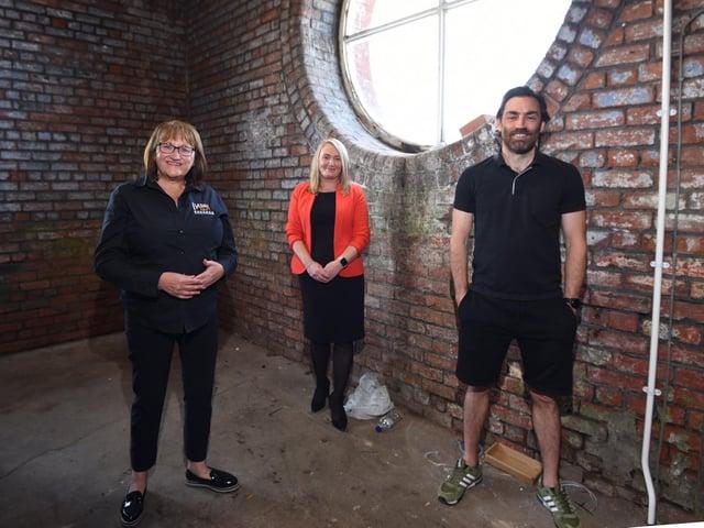 Elizabeth Costello, Jo Platt and Matthew McNulty