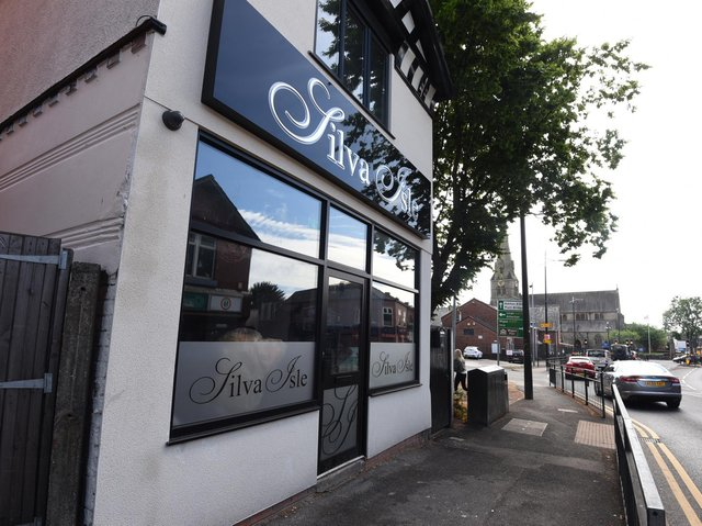 The outside of the new Silva Isle cocktail and wine bar on Market Street in Hindley town centre