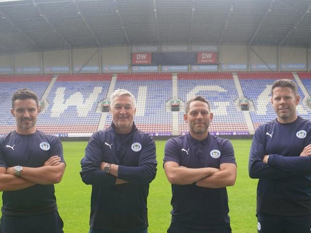 Darryl Flahavan, Rob Kelly, Leam Richardson and James Beattie at the DW