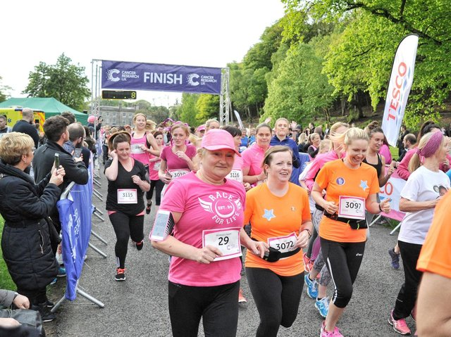 Race For Life is returning to Haigh Woodland Park
