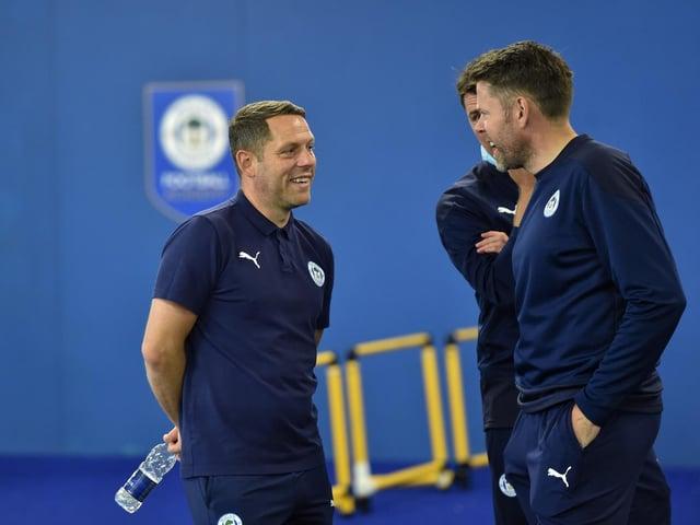 Wigan Athletics players have returned for pre-season training (Photos: Bernard Platt)