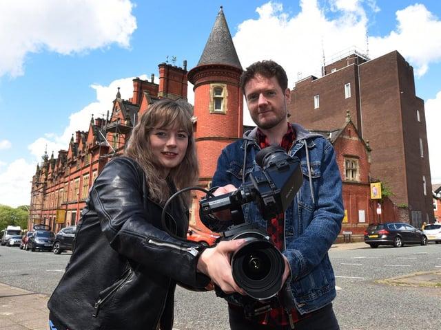 Natasha Hawthornthwaite and Scott Bradley of Northern Heart Films