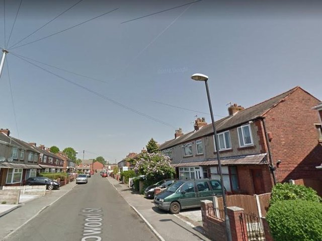 Firefighters were called to Lowood Street in Leigh. Pic: Google Street View