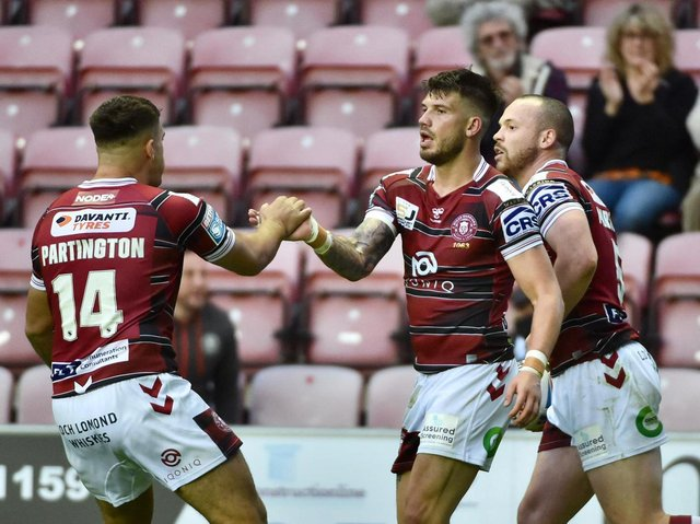 Oliver Gildart's try offered brief hope of a fightback
