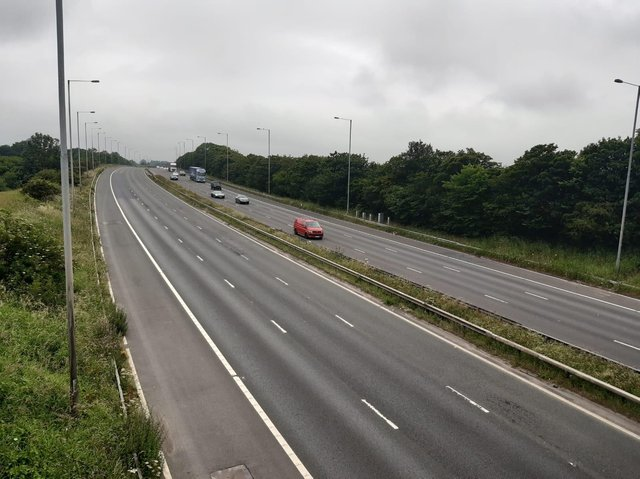 The M6 southbound remains closed after a serious crash involving a lorry and a car at around 1am this morning (Thursday, July 1)