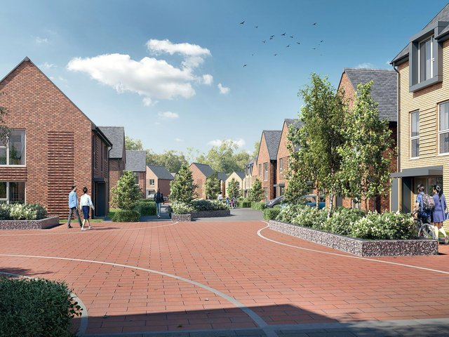 Northstone homes similar to the ones proposed for the former colliery site