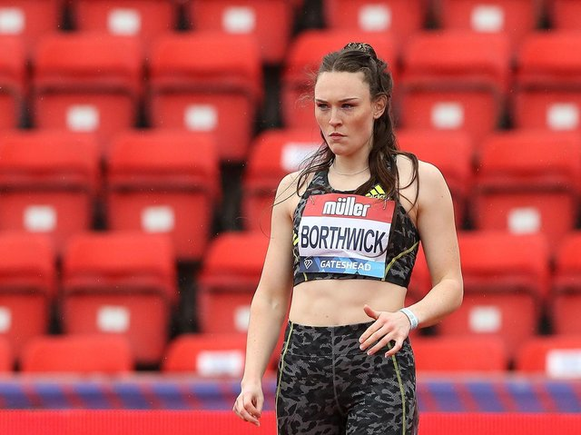 Wigan Harrier Emily Borthwick
