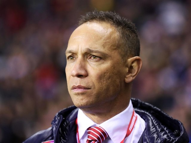 Wigan coach Adrian Lam.