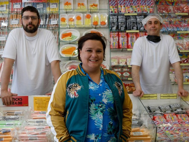 Susan Calman unravels the mysteries of making rock in Grand Week by the Sea, a new series on Channel 5