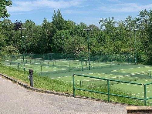 Bellingham Tennis Club opposite the hospital