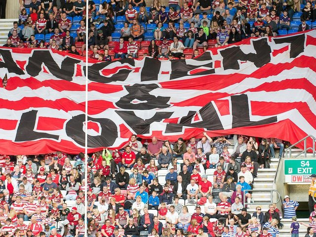 Wigan will have unrestricted crowds from later this month