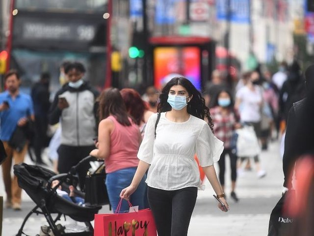 Roughly one in five (21%) said masks should not be compulsory