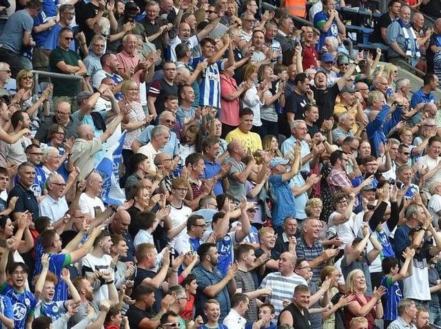 Latics fans will soon be back inside the DW Stadium