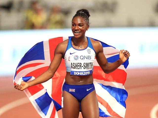 Dina Asher-Smith is third favourite