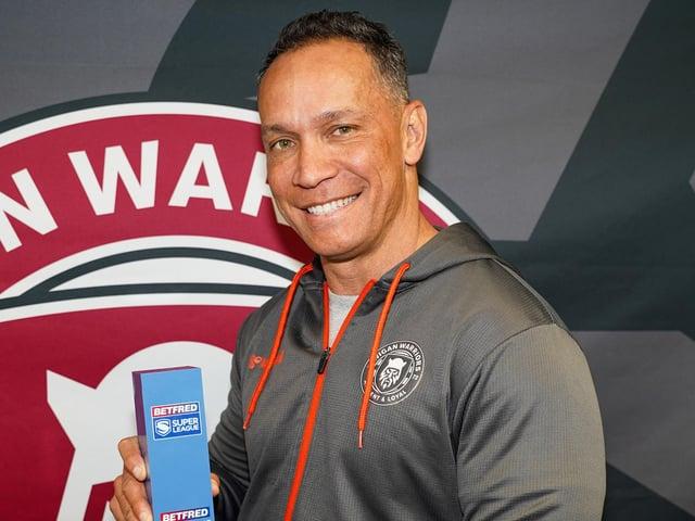 Wigan coach Adrian Lam