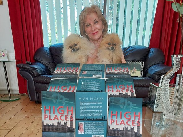 Author Julie Conrad has published her debut novel High Places