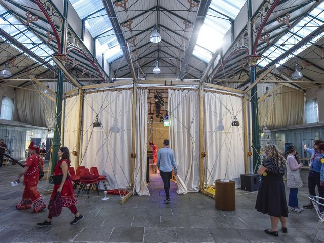 The Den, the Royal Exchange Theatre's pop-up drama space, is coming to Leigh