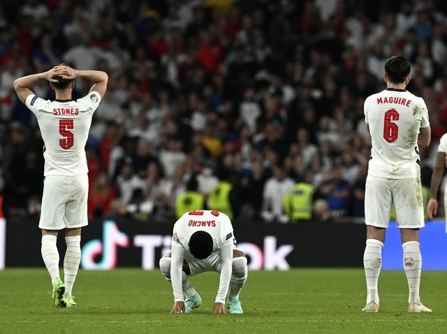 this was the best performance by the England football team since our World Cup victory back in 1966, says James Grundy