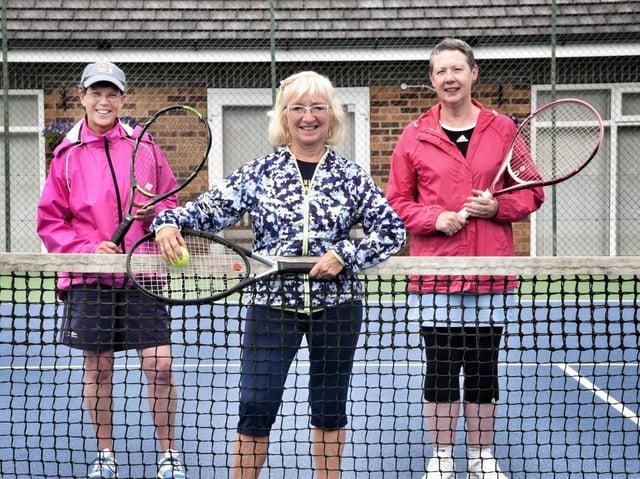 Ann Marie Sandelands, Christine Charnock-Jones and Wendy Heaton