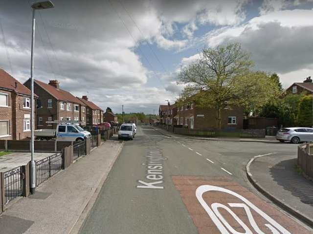 The investigation into what happened on Kensington Drive continues. Pic: Google Street View