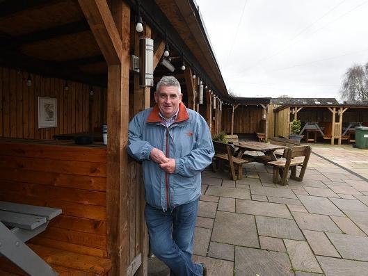 Pub boss Tony Callaghan