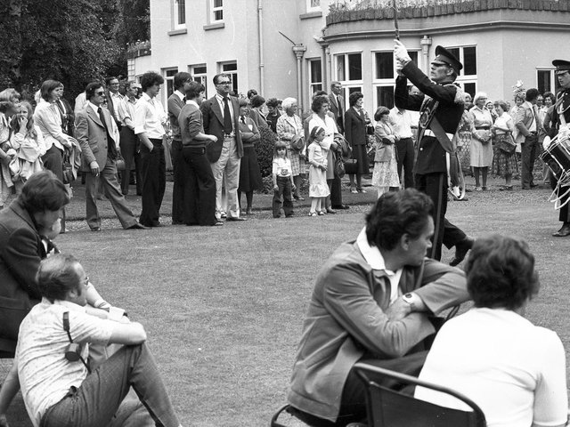 Wigan 's Haigh Hall estate is enjoyed by families in the summer of '79
